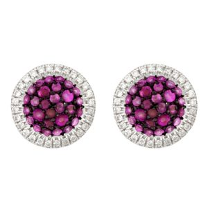 Caress 18K WG Diamonds & Rubies