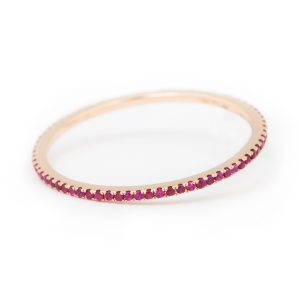 Caresse Ruby Ring 18K RG
