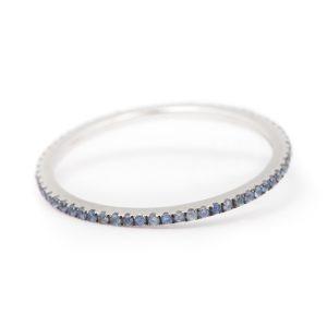 Caress Sapphire Ring 18K WG
