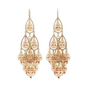 Shalimar Earrings 18K Yellow Gold