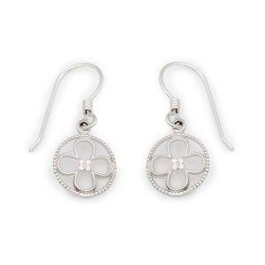 Faith Sterling Silver Earrings