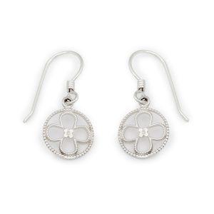 Faith Sterling Silver Earrings