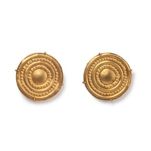 Ginta 18K yellow gold cufflinks