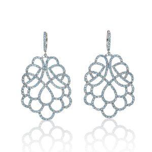 Renaissance Swiss Topaz Earrings
