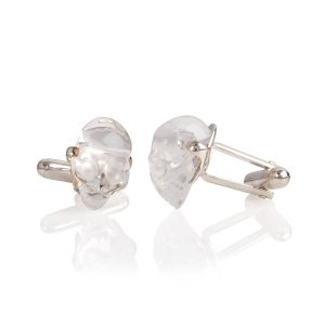 Arcadia Rock Crystal Cufflinks