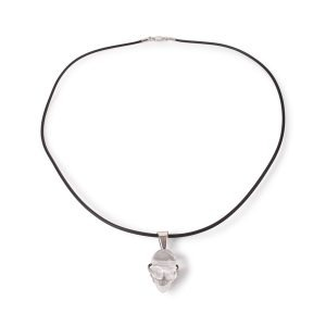 Arcadia Sterling Silver Rock Crystal Necklace
