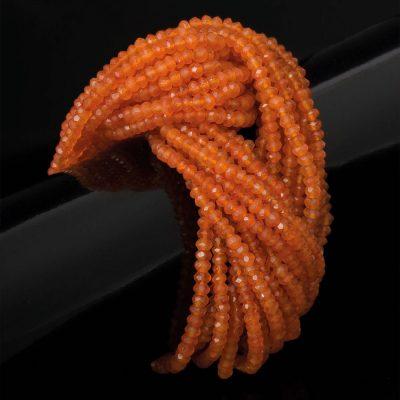 MHB Cornelian Torque Bracelet