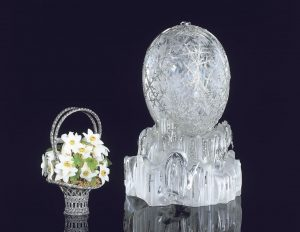 Fabergé's winter flowers and egg
