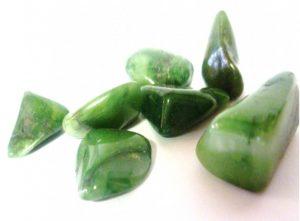 Transversal Jade Tumbled Crystal.