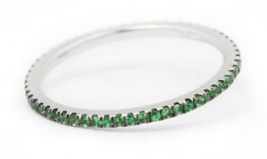 Gem Voyager Tsavorite Garnet Ring