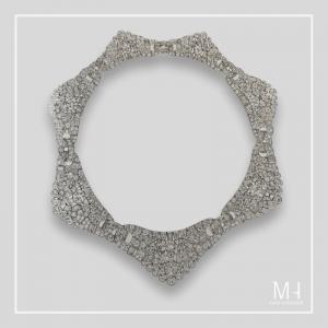 Collaret, 1928 Platinum and diamonds Van Cleef & Arpels Collection.