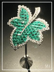 Feuille de Platane, 1951 Emeralds,