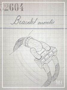 Cadenas watch sketch