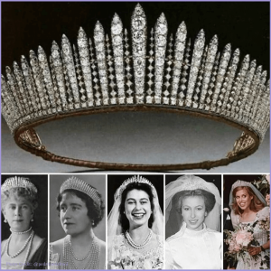 royal fringe tiara