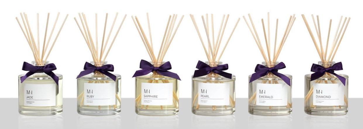 luxury gemstone fragranced diffusers